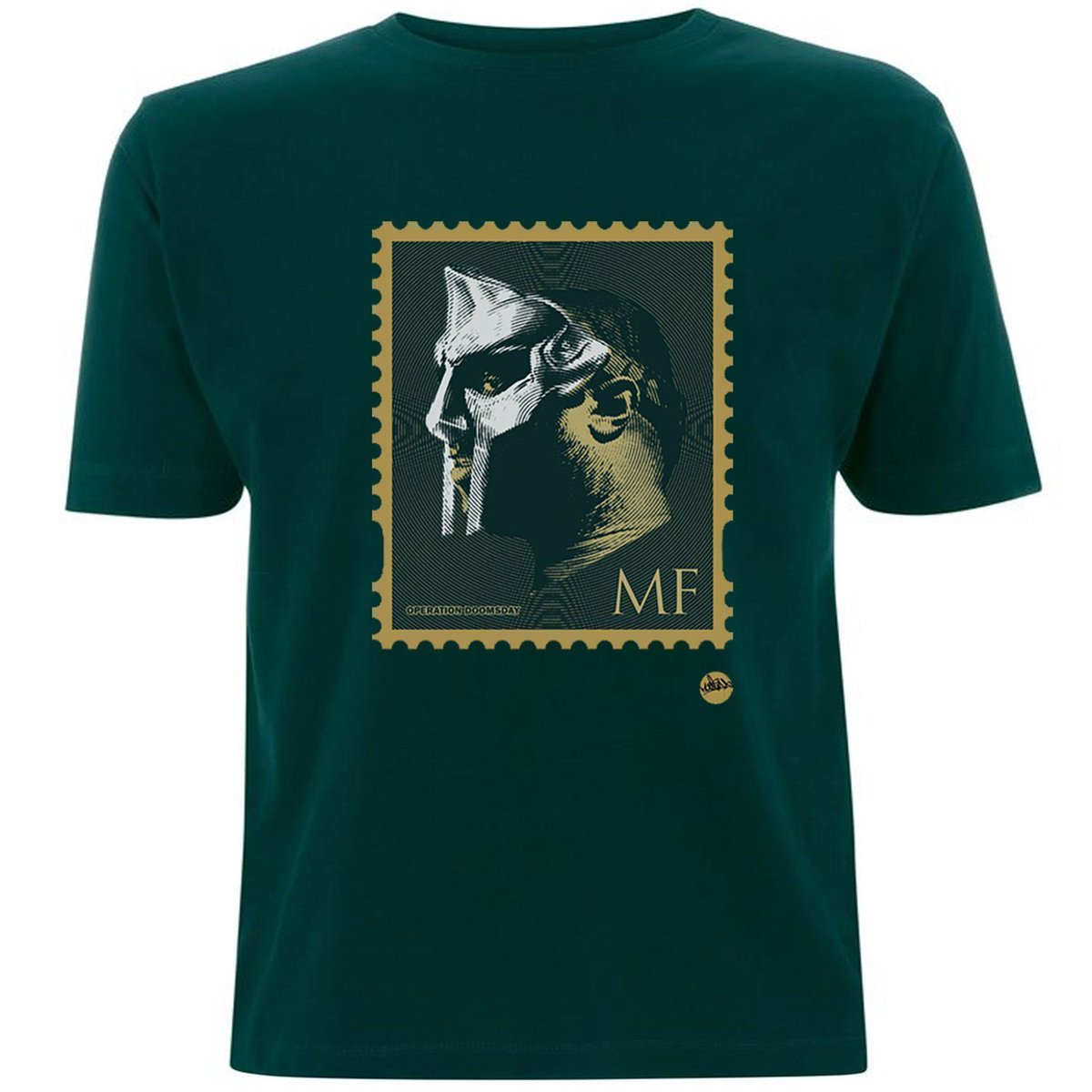 Most of my VILLAINS don't appear on no Stamp -  #MFDOOM #DOOM #Green #Tshirt #TShirtDay #HipHop RT