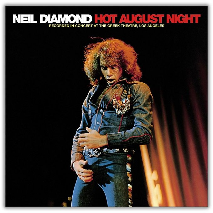 Happy birthday Neil Diamond.  Never been a big fan of your music, but your album covers are awesome...
