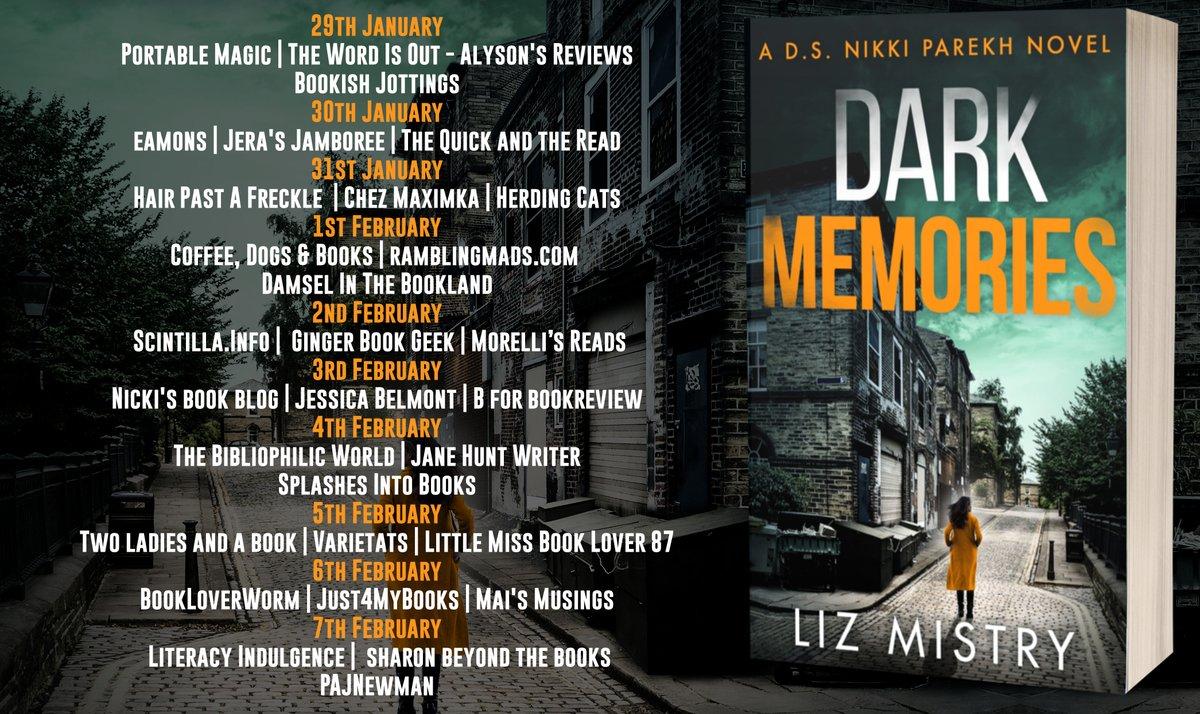 5 Days to go till #DarkMemories release day   #Bradford  #NewRelease #CrimeFiction #Bradford #Yorkshire  #ReadMoreWomen #Reading @HQstories @Belinda_Toor @rararesources