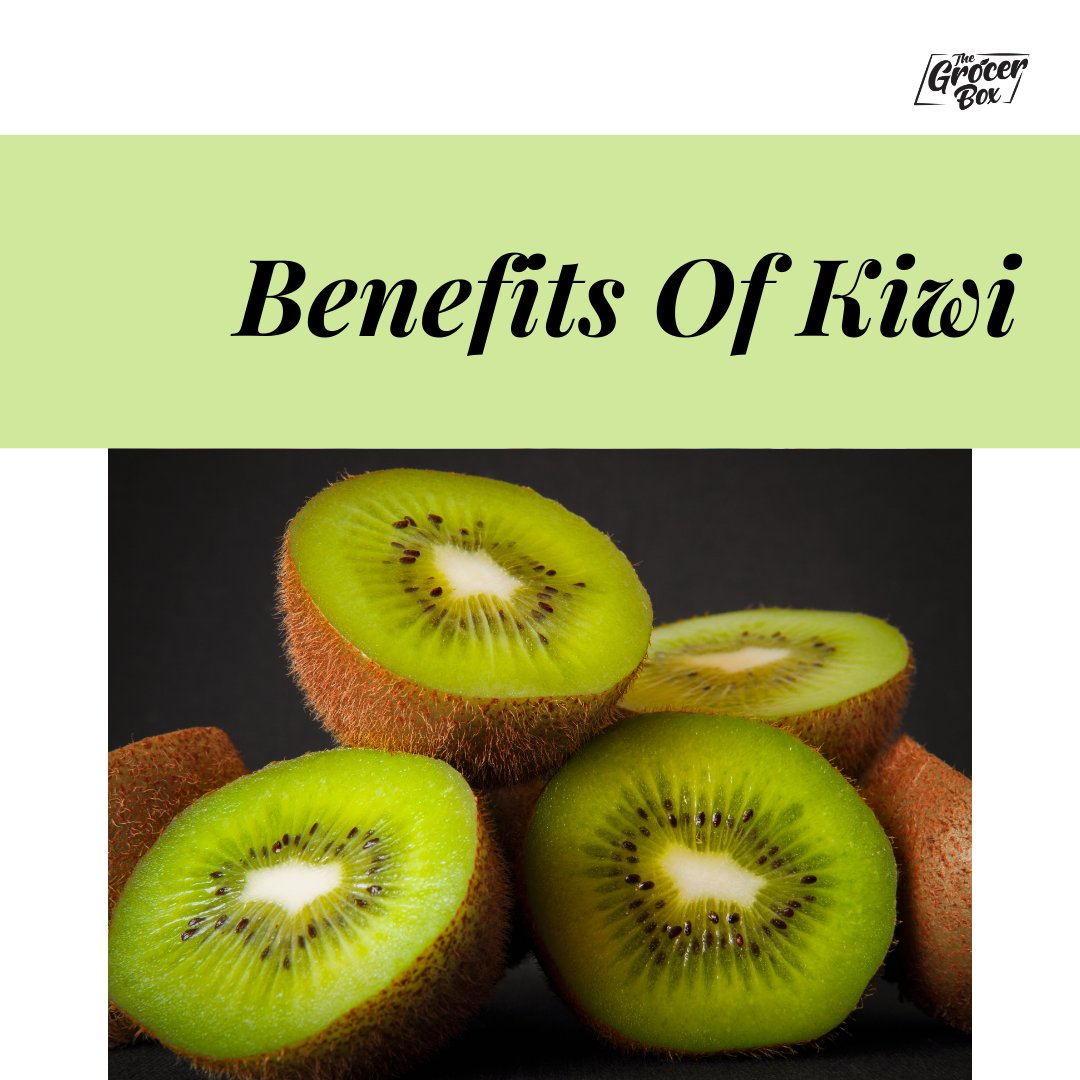 Kiwis are high in Vitamin C and dietary fibre and provide a variety of health benefits. This tart fruit can support heart health, digestive health, and immunity. The kiwi is a healthy choice of fruit and is rich with vitamins and antioxidants. #sundayvibes
