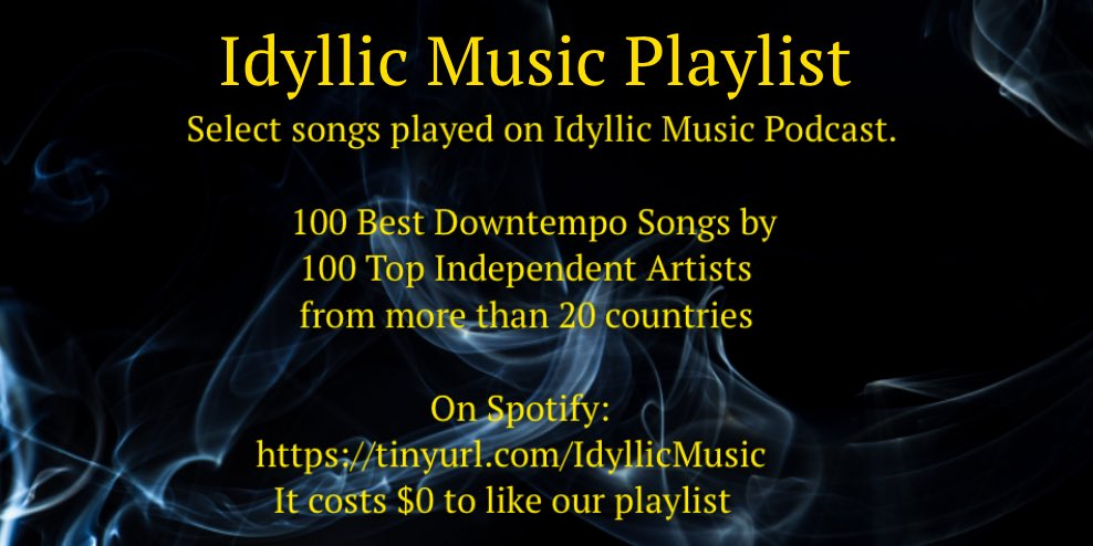 #SpotifyPlaylists #triphop #chillout #downtempomusic #calm #sundayvibes Please support these independent artists!