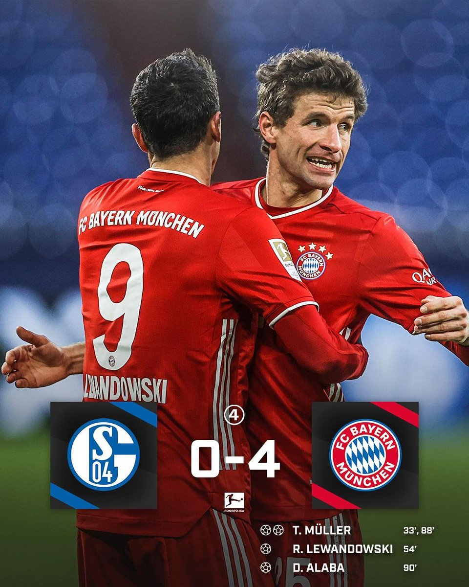 Schalke 0️⃣➖4️⃣ Bayern 🔥👀