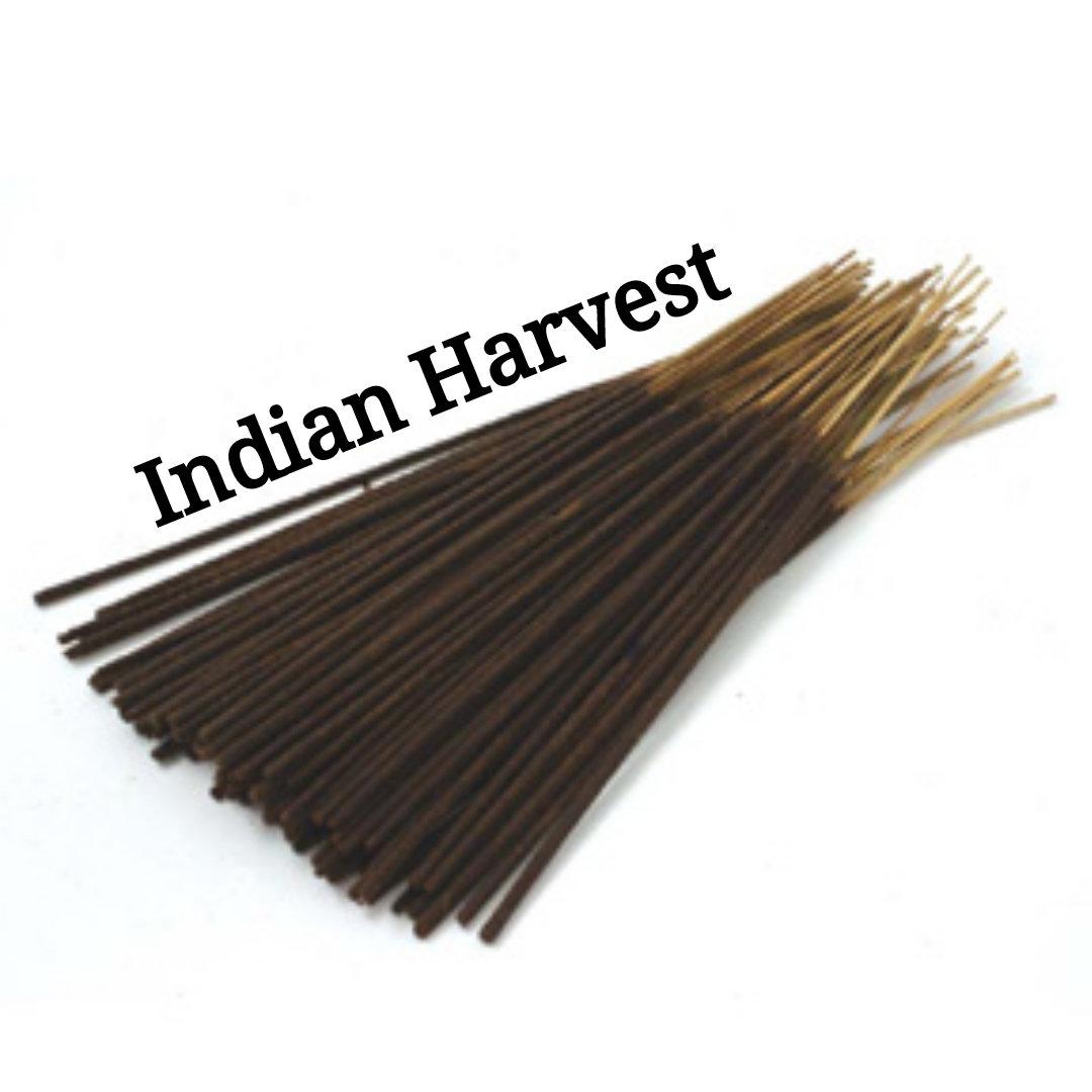 Incense Sticks | Indian Harvest | 30 Incense Sticks | Incense Bundle  #HerbalRemedies #AromatherapyOil #Etsy #BlackFriday #PerfumeBodyOils #HomeFragranceOil #CyberMonday #Incense #Wedding #GiftShopSale #HealingIncense