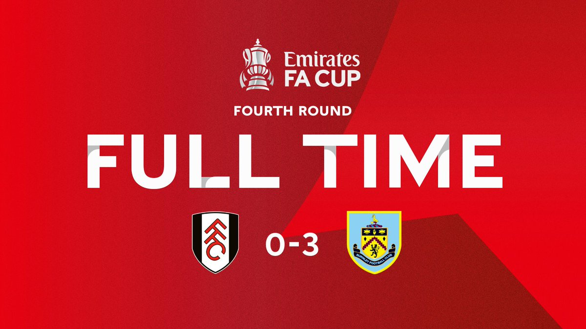 Congratulations to @BurnleyOfficial on progressing to the #EmiratesFACup fifth round 👏