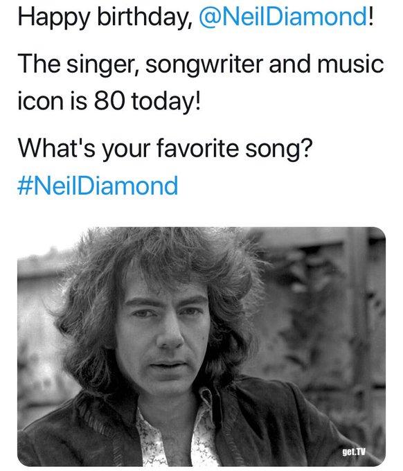 Neil Diamond! Once a Railsplitter Always a Railsplitter!