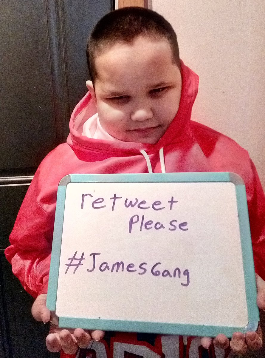 """@AP_Africa @AP LINK 👉   James WILL HAVE HIS HEART transplant in late March or April, all I can ask, to help Us secure His """"Aftercare fund"""" for proper follow-up and Meds, if You can't afford to donate, is a RETWEET PLEASE, for a Child, & His future, bless You! #JamesGang"""