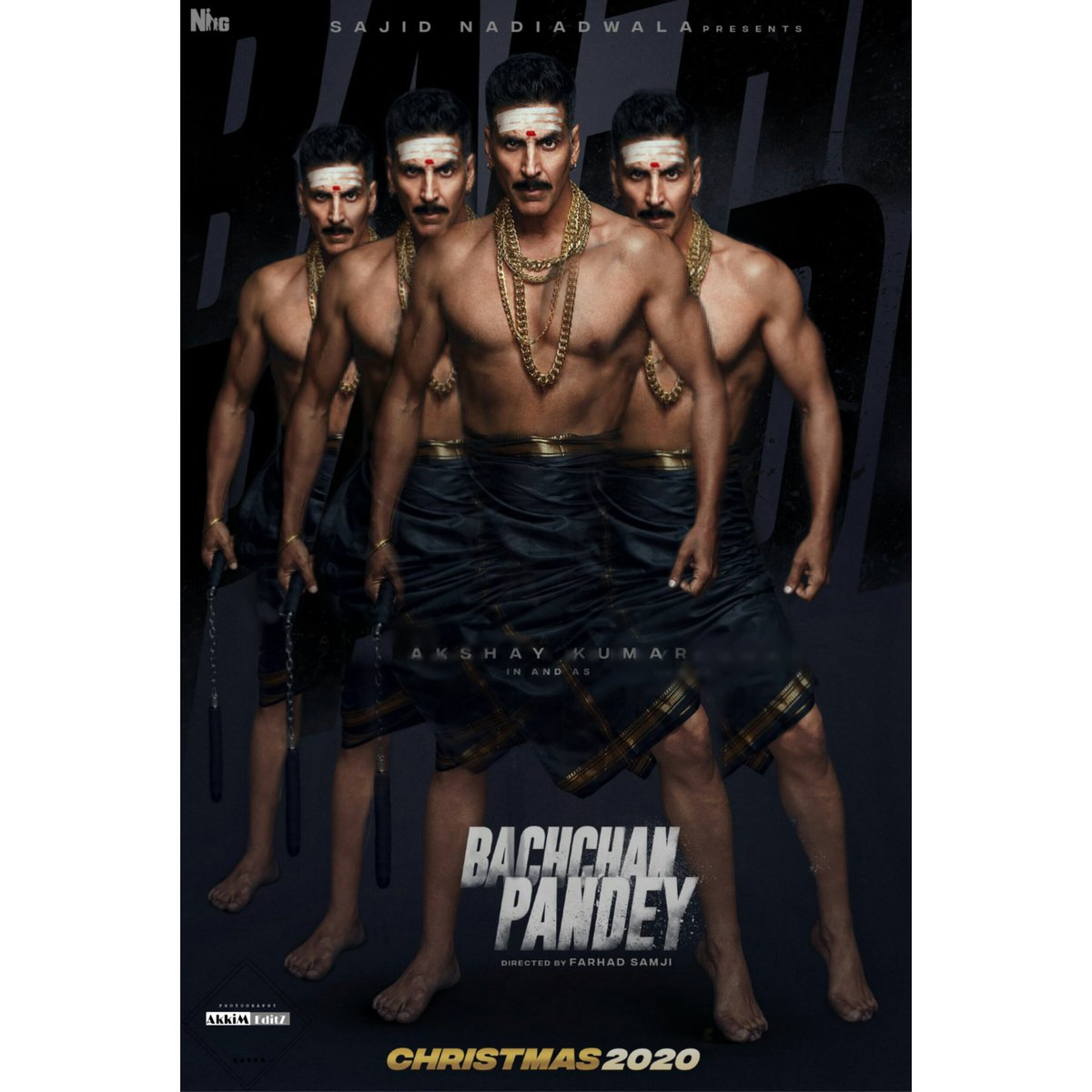 #BachchanPandey  Edit   Old One   #30YearsOfKHILADIsm