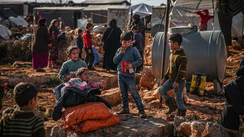Replying to @franceinfo: Syrie : plus de la moitié des enfants sont privés d'école, alerte l'Unicef