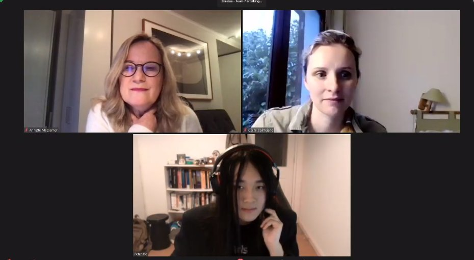 #TeensInAIFR Les 7 équipes ont terminé la présentation de leur pitch & démo, elles partagent leur expérience avec les membres du jury : @ccalmeja  Annette Messemer @PetertheHe  #GirlsInAI #TechForGood #TeensInAI