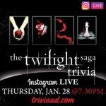 Image for the Tweet beginning: #Twilight Saga (Book) #Trivia on
