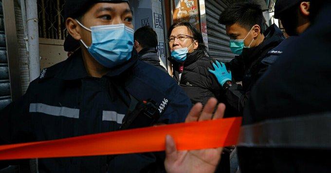 Hong Kong Crackdown Is an Early Test for Biden Photo