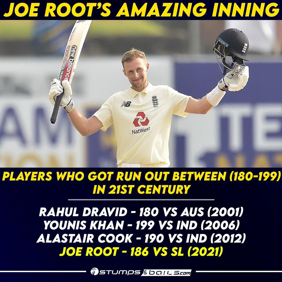 @root66 missed out second successive double century  Follow us @stumpnbails #TestCricket #IndvsEng #IndianCricketTeam #TeamIndia #AjinkyaRahane #IPL #ipl2021  #iplretention #SLvsENG #slvseng2021 #engvssl #Cricket #joeroot
