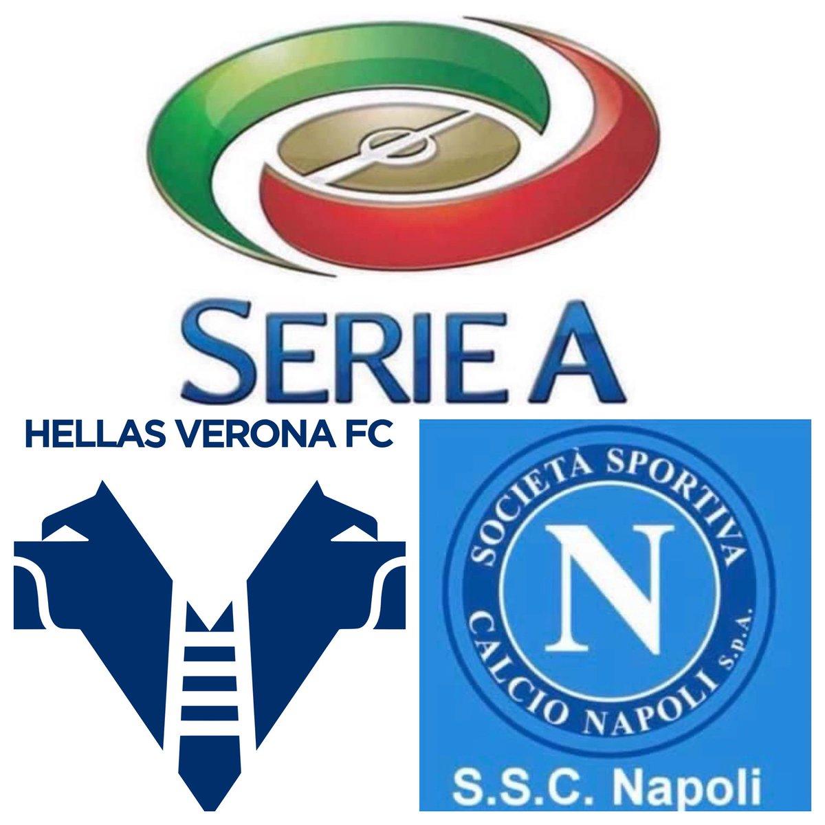 #IESRSN #Napoli @ #Verona is underway! #SerieA #VeronaNapoli