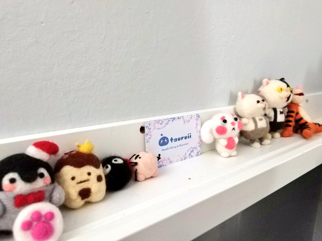 My little shelf next to my work table 🥰 #BehindtheScenes