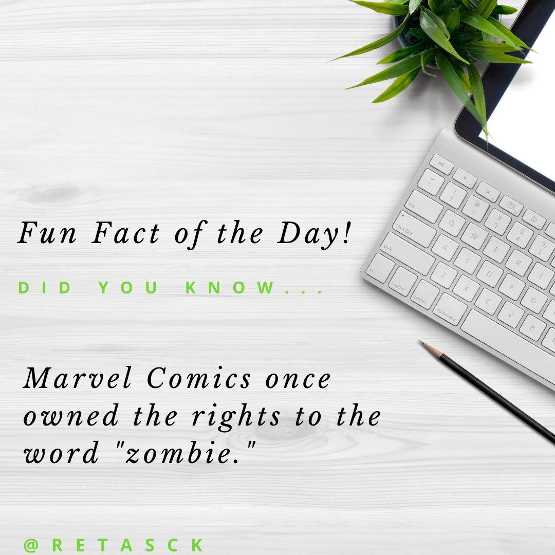 Today's Fun Fact of the Day ……   • • • Oh, and don't forget to ReTasck.   #Entrepreneur #Virtual #ReTasck #ReDefine #ReInvent #ReThink #ReCenter #Motivation #Marketing #Mindset #StartUp #Millionaire #Billionaire #Wealth  #FactOfTheDay https://t.co/0KlQ8TuwEp