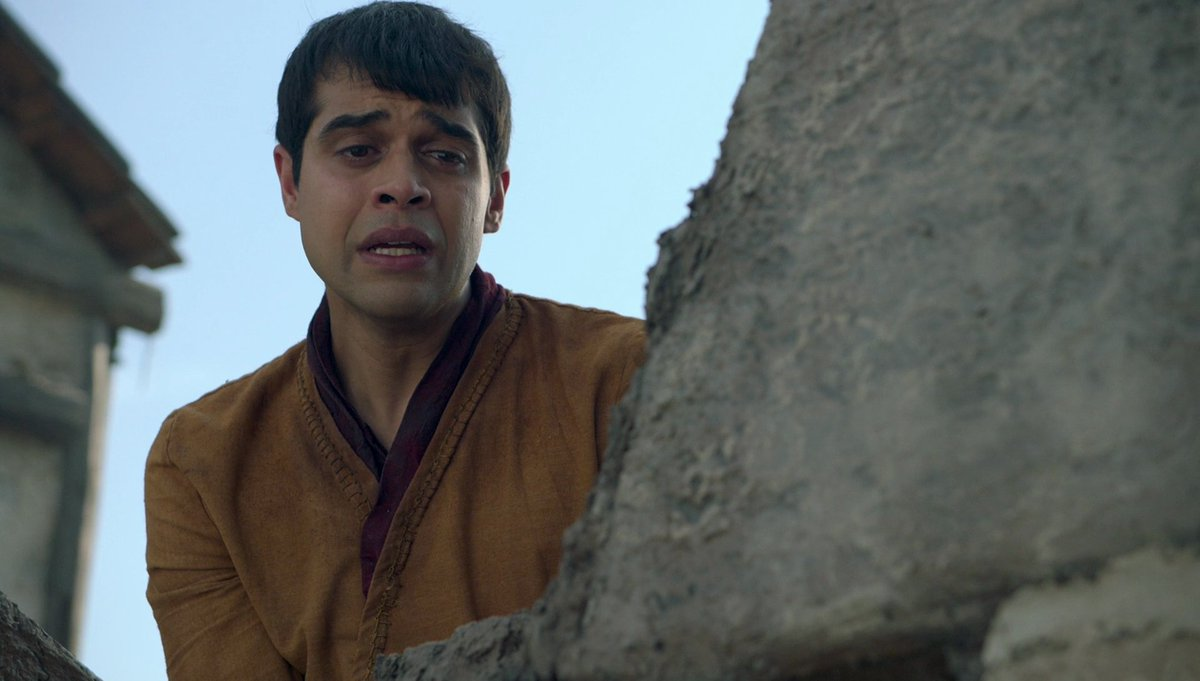 It was heartbreaking how #Janzo denied #Muntthemagnificent entry to #TheOutpost. However, I don't know if #Munt at that time was just being Munt, or was #Yavalla who was speaking instead of him...🤔 #TheOutpostseries