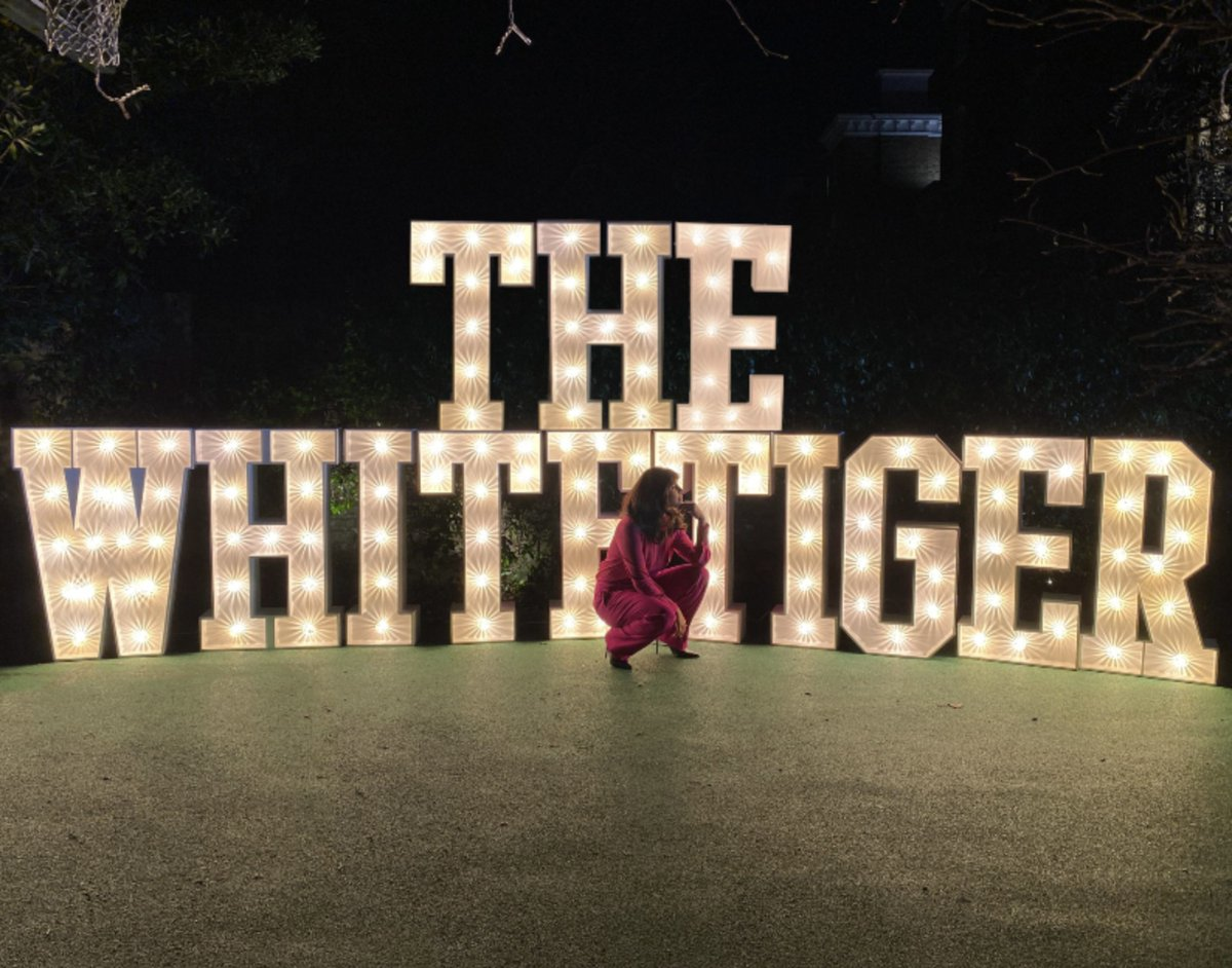 Ending opening weekend with a full heart. I'm blown away by the love for #TheWhiteTiger's release on  @netflix this weekend. Your support in watching this film has made it trend globally in the top 10 in less than 48 hours + counting. (1/4)