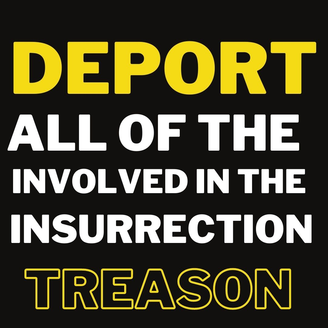 @Cleavon_MD DEPORT and CANCEL VISAS of ALL THE #IMMIGRANTS INVOLVED IN THE TREASONIST ACT: #Insurrection #USCapitol  #BlackTwitter #BlackLivesMatter #EnriqueTarrio #TedCruz #TamDinhPham #ICE #MAGA #Russians #Ukraines #Cubans #Latino #Latinx #Deportation #DACA