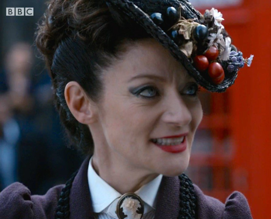#day23 Missy. Doctor Who. I was obsessed with her from the start. She's funny and dangerous and loveable and scary at the same time. My favourite version of the Master. She goes so well with PCap's Doctor too. I hope one day we see her again. Maybe in the 60th?🤞
