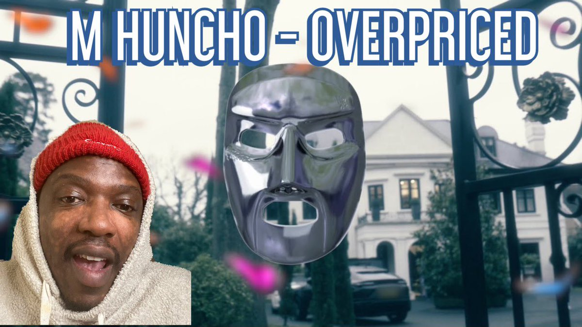 M Huncho - Overpriced (Freestyle) | Reaction 🔥🔥🔥  via @YouTube #mhuncho #overpriced