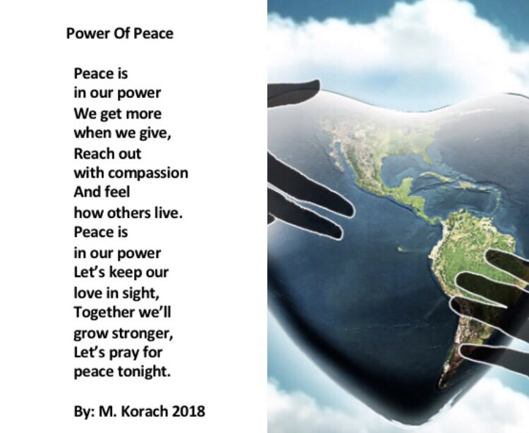 I believe in the power of prayer, the power of positivity, & the power of peace! Please repeat the same if you do too! #StarfishClub