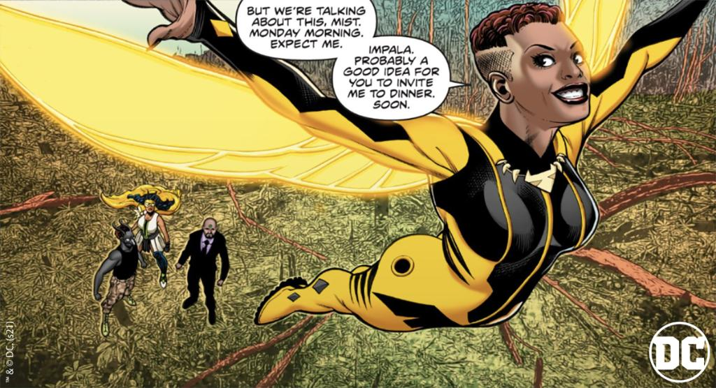 What Vixen says goes 💯 How did you like TRUTH AND JUSTICE Chapter 3? #DCDigitalFirst