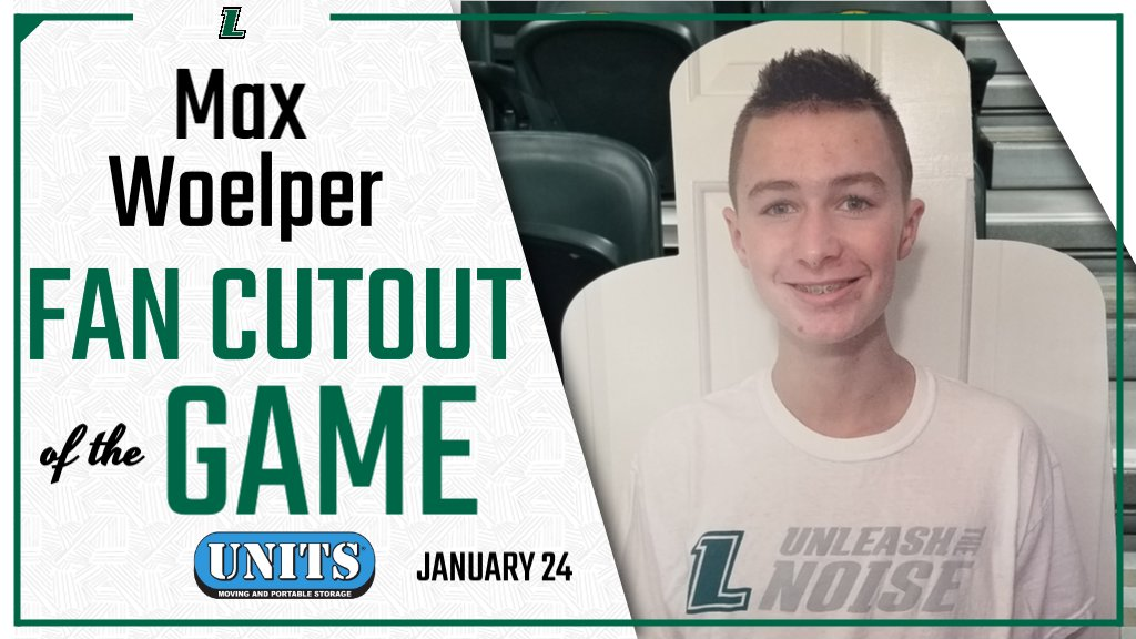 Today's Fan Cutout of the Game is Max Woelper. Max will receive a Loyola Fan Pack courtesy of @UnitsStorage.  For a chance to win, purchase your own cutout at https://t.co/8DL2uyhefb. https://t.co/gO2h5Bgzho