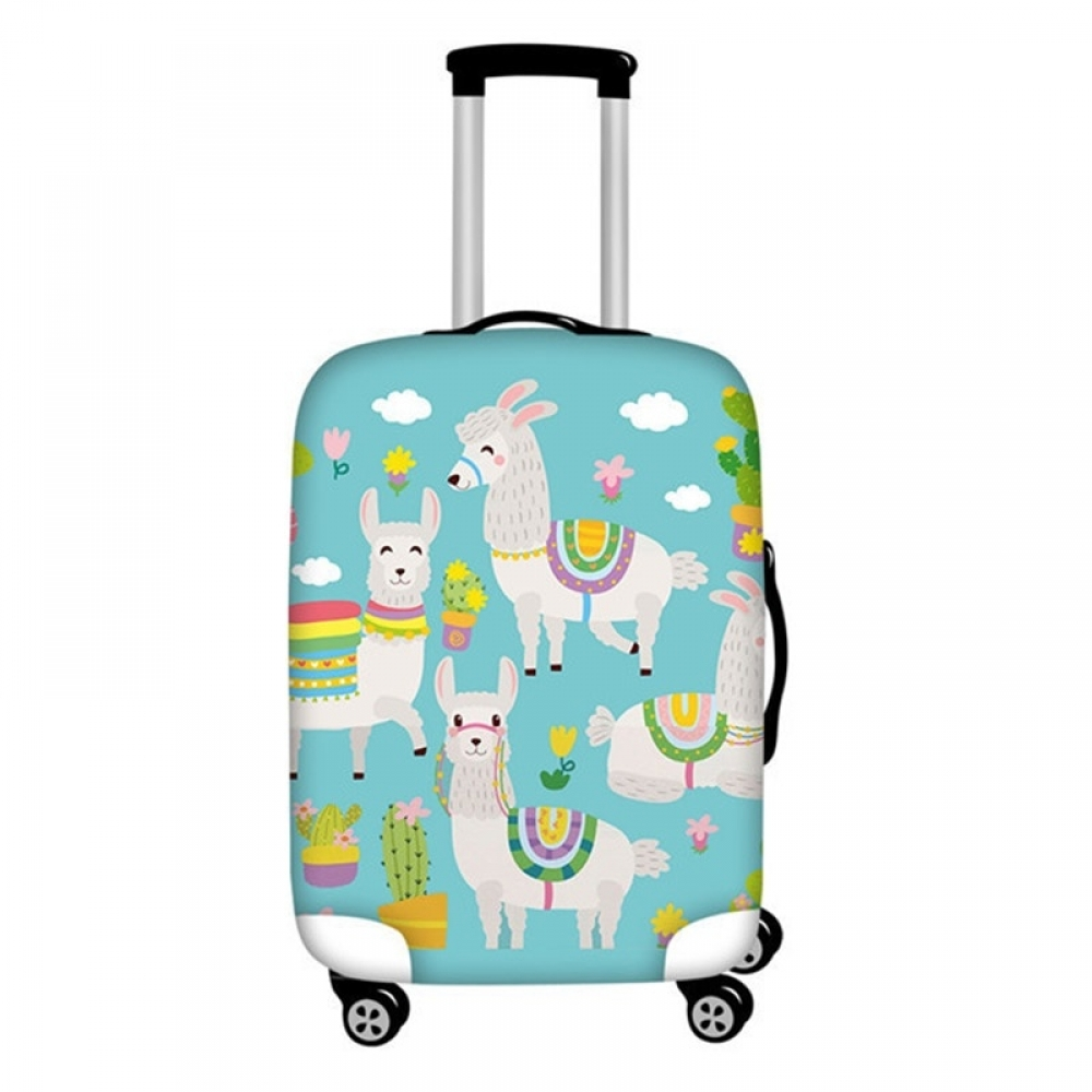 #fitness #downhill No Drama Llama Suitcase Cover