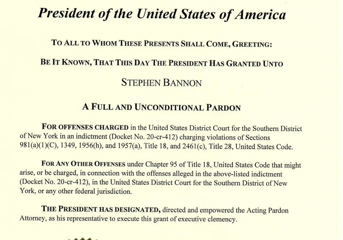 @emptywheel I posted wrong link. Here is Bannon pardon: