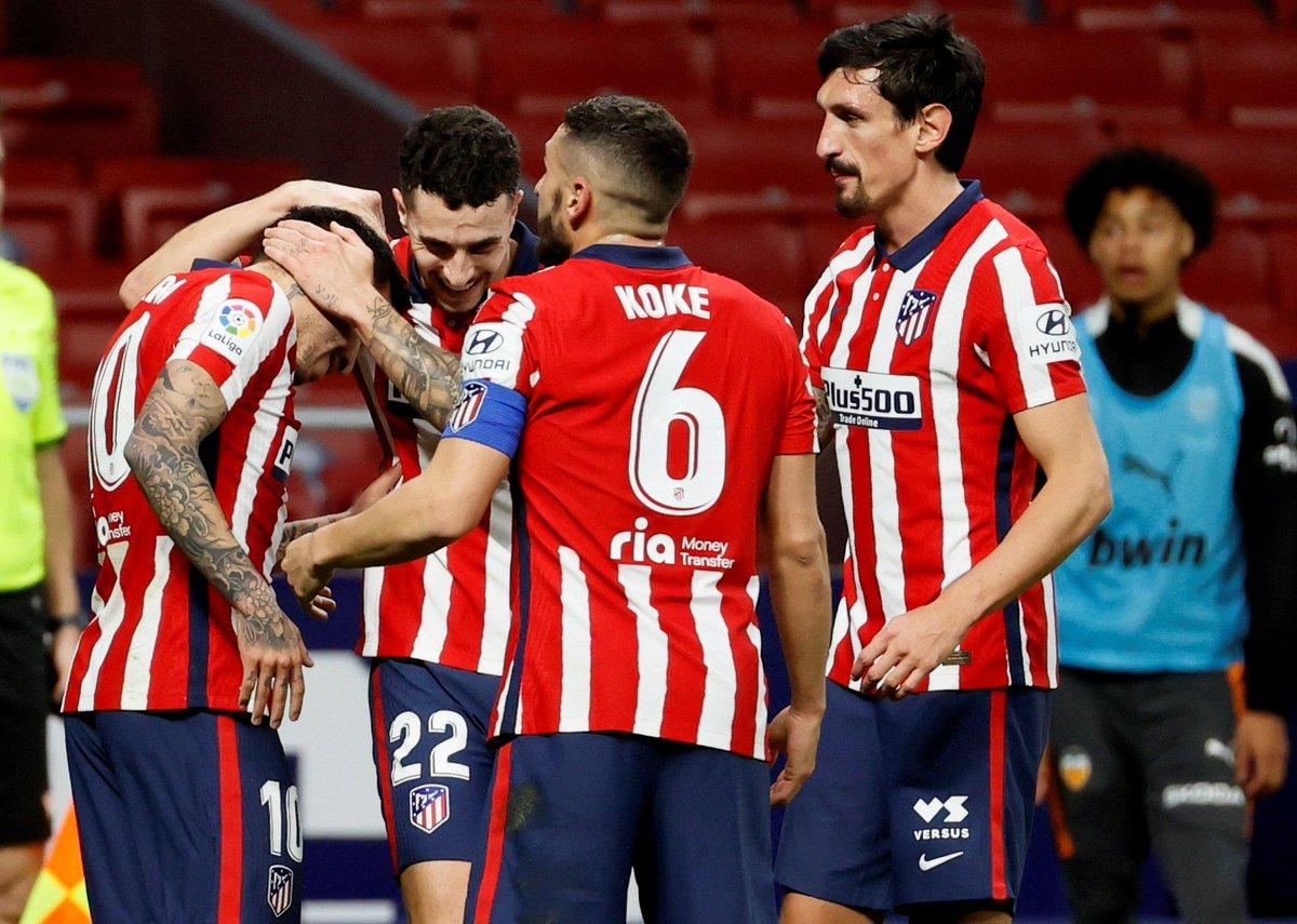 #AtletiElche 3-1 ✅  #RealSociedadAtleti 0-2 ✅  #AtletiGetafe 1-0 ✅  #AlavésAtleti 1-2 ✅  #AtletiSevillaFC 2-0 ✅  #EibarAtleti 1-2 ✅  #AtletiValencia 3-1 ✅    ¡El @Atleti NO PARA!    #LaLigaSantander