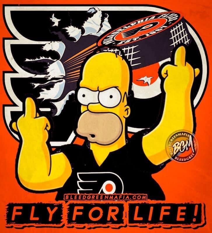 I know they are in a bit of a slump to start the season but #LetsGoFlyers #AnytimeAnywhere #FlyForLife