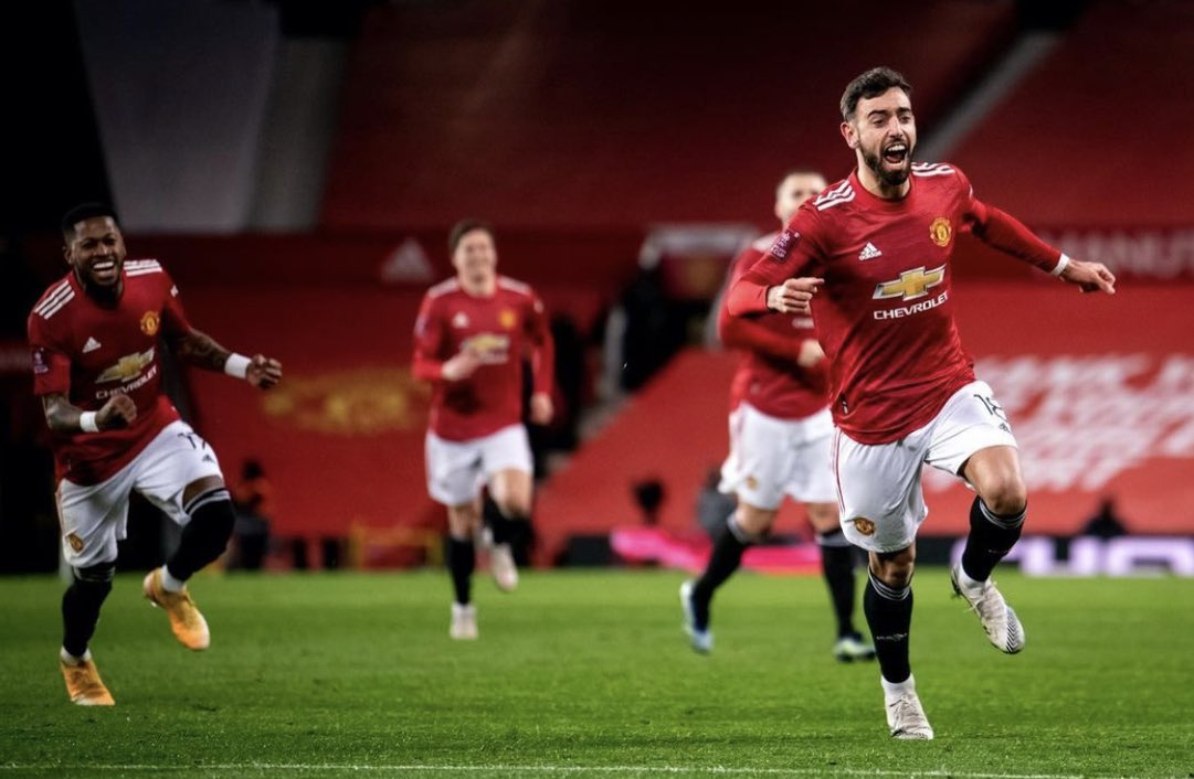 Replying to @B_Fernandes8: Running to the next round 💪🏼 #FAcup #MUFC @ManUtd