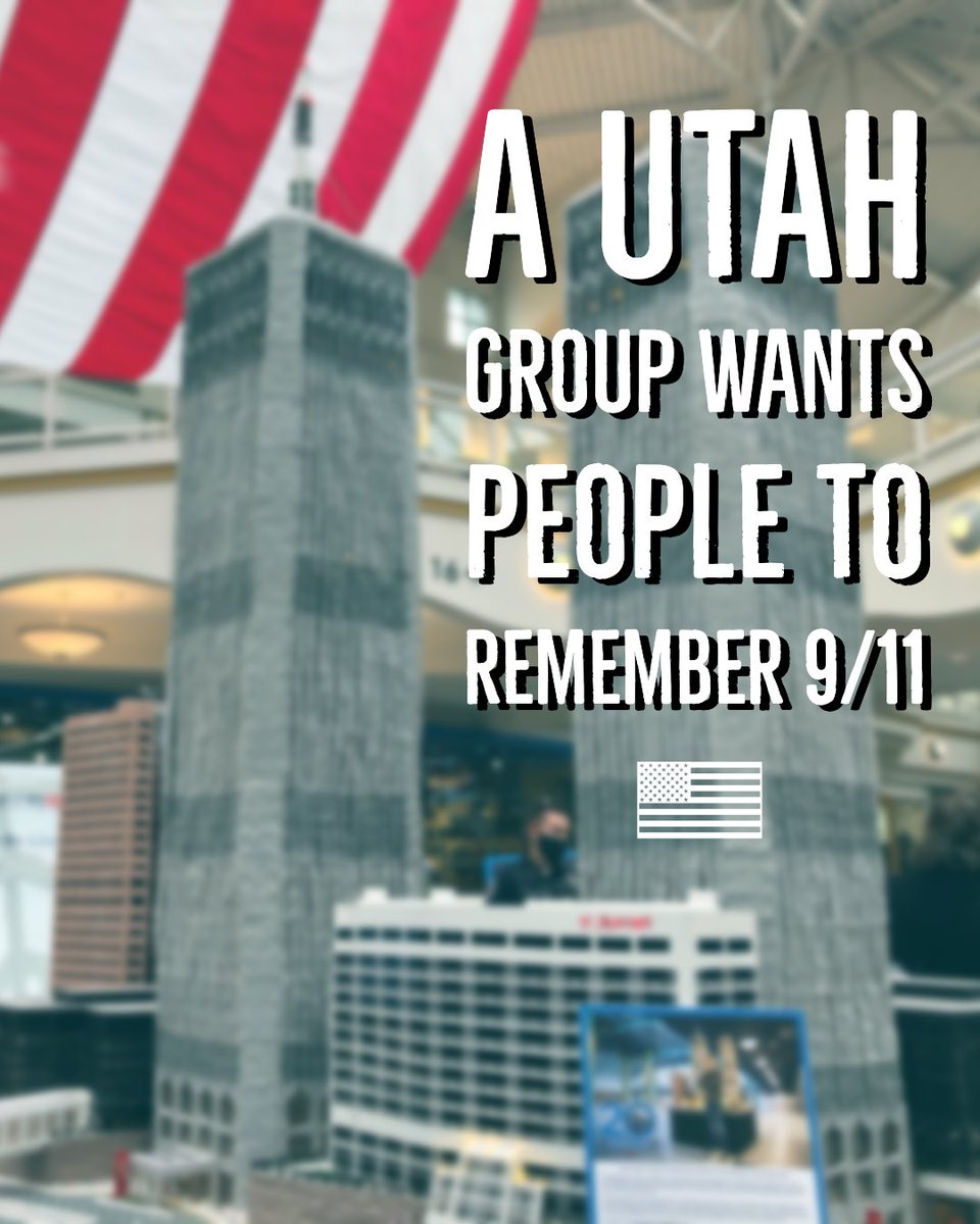 If you're looking for something pretty cool to see, check out the #september11 #wtc911exhibit at the South Towne Mall in Provo hosted by @honorvet365. Here's the story we did on it for @KSL5TV.