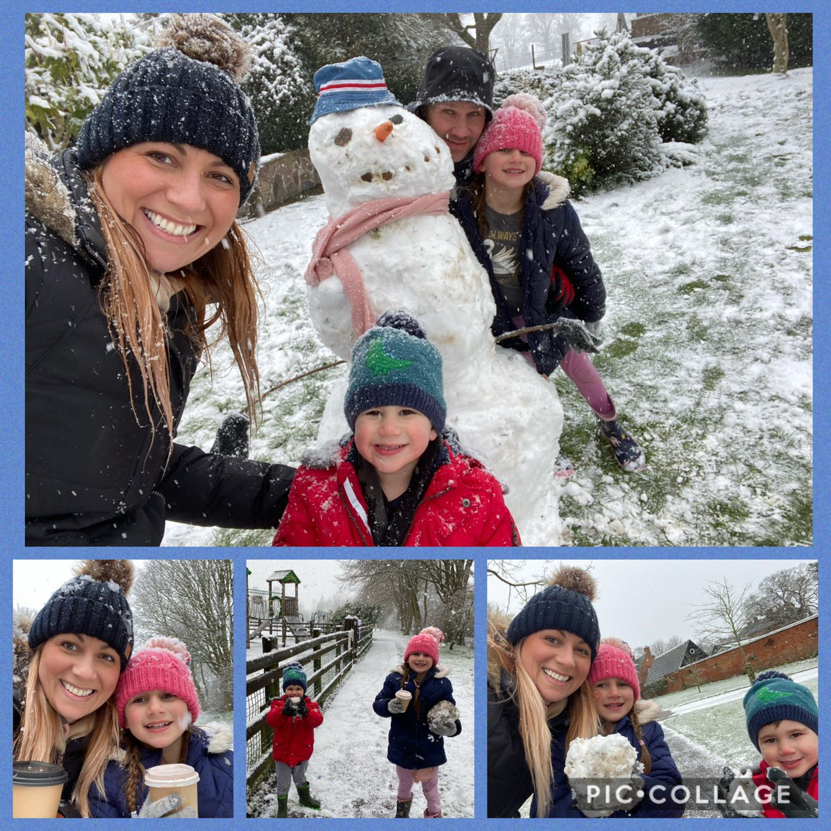 Fun in the snow!! #familytime #snowday