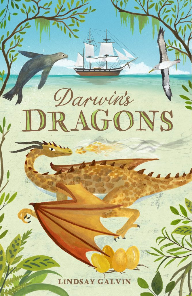 #DarwinsDragons  by @LindsayGalvin @chickenhsebooks has literally taken my breath away. An exciting history lesson with a stunning magical twist...  #bookreview #kidlit #kidlitart
