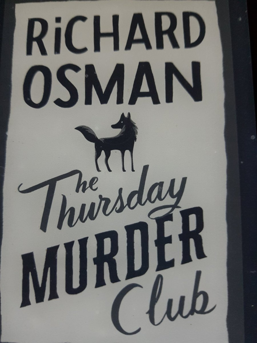 Very much enjoying @richardosman's first #CrimeFiction and hope it won't be his last venture into this genre. Unfortunately will have to wait until May to find out how translator Sabine Roth has solved tricky alterations and very British references.