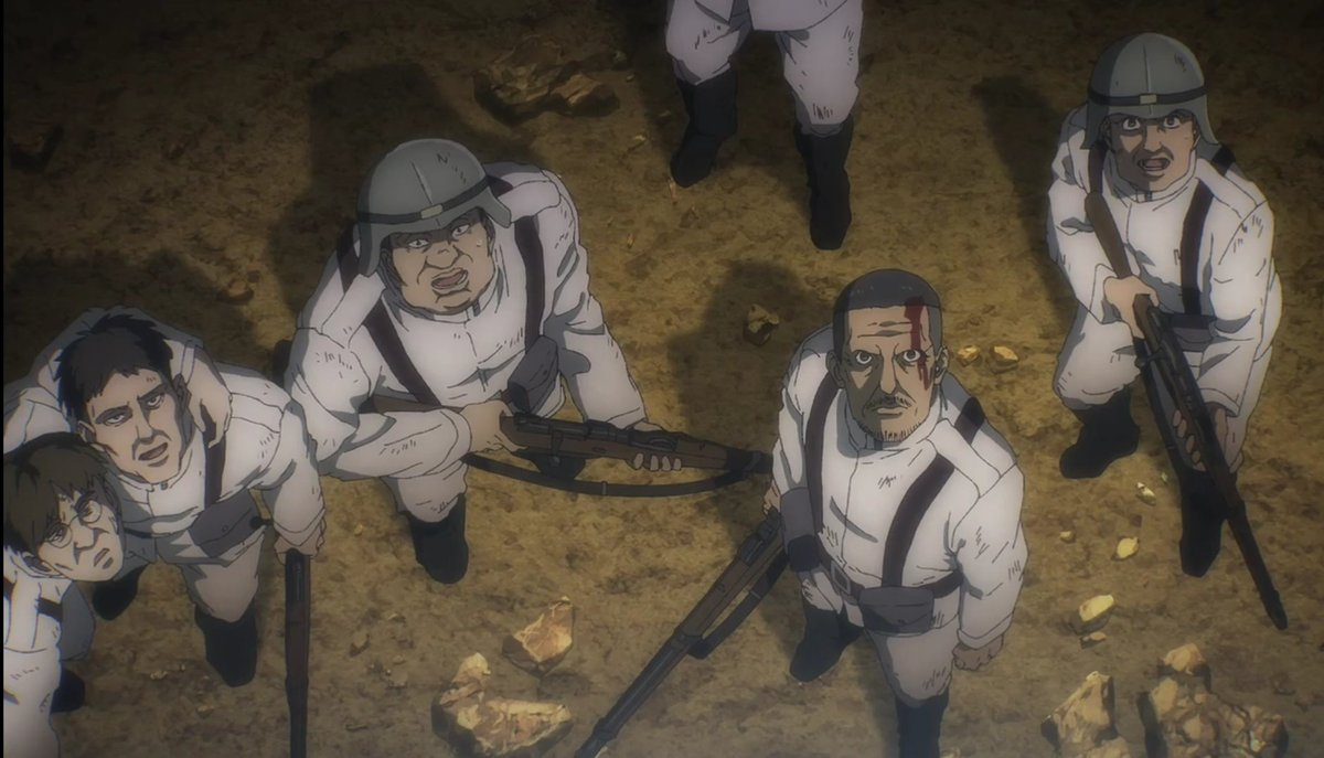Would LIKE TO ASK MARLEY, HOW DOES IT FEEL BEING ON THE RECEIVING END, COCKY BASTARDS? #AttackOnTitan #AOTAssault