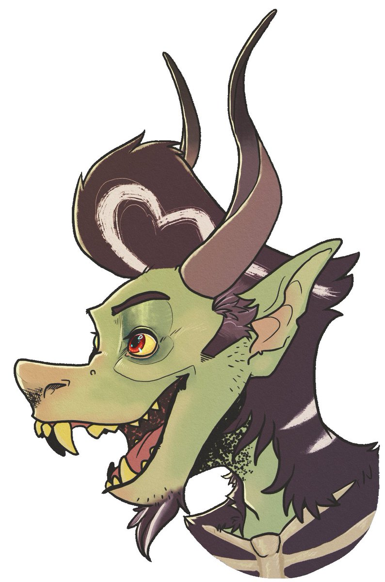 did I post this here ? I dont hink I did here it is annyway its my krampus clyde  #art #illustration #krampus #pompadour #cool #monster #drawing #monsteroc #rockabilly #rockandroll #artist #greaser #furryart #ArtistOnTwitter #cute #artwork #furry