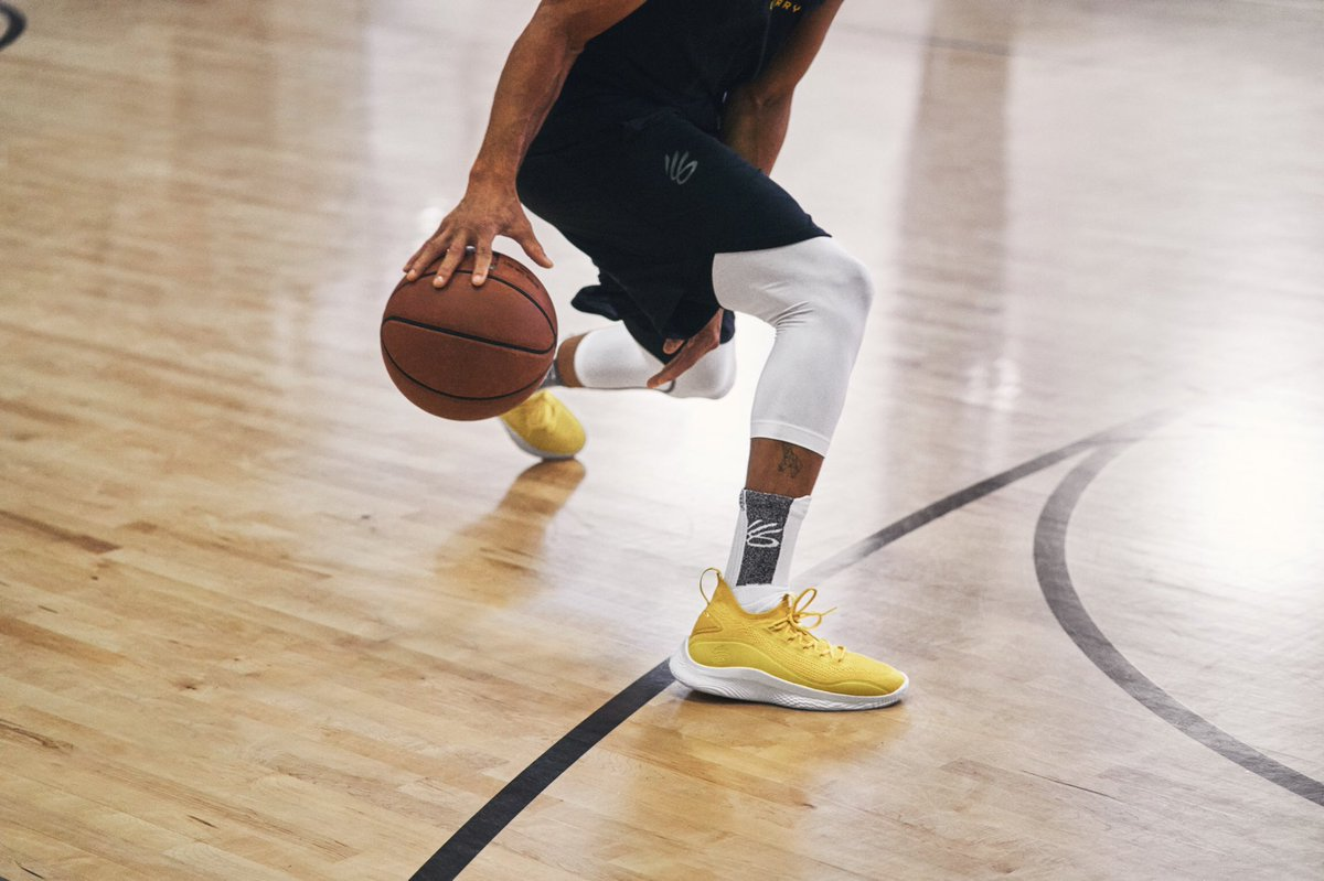 Now that's a smooth look.  Secure your pair of #Curry8 Smooth Butter Flow at Warriors Shop at Thrive City.  Social distancing and masks are required for in-store shopping.  Adhere to all public health recommendations and stay home if you are sick.