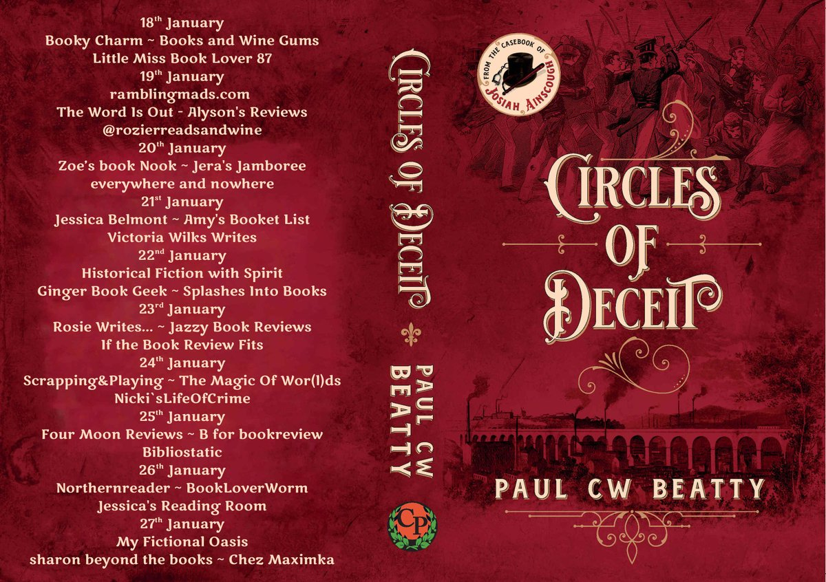 """""""This is a gripping, informative and highly entertaining story that kept me hooked and made me travel in time."""" says @Annarella about Circles of Deceit by @cw_beatty    #bookbloggers"""