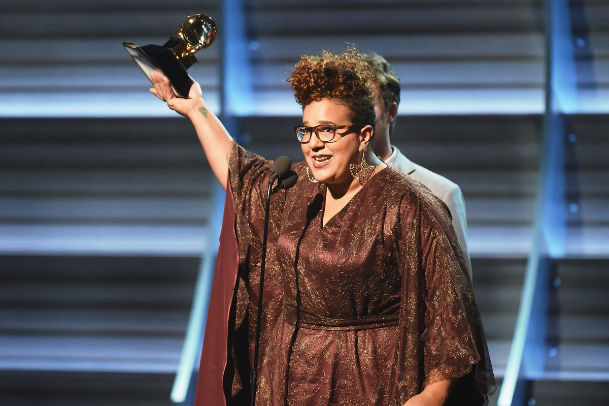 This is the most #GRAMMYs nominations Brittany Howard (@blkfootwhtfoot) has received in a single year.   Her five nominations this year span across four Fields: Rock, Alternative, R&B, and American Roots:  🎶