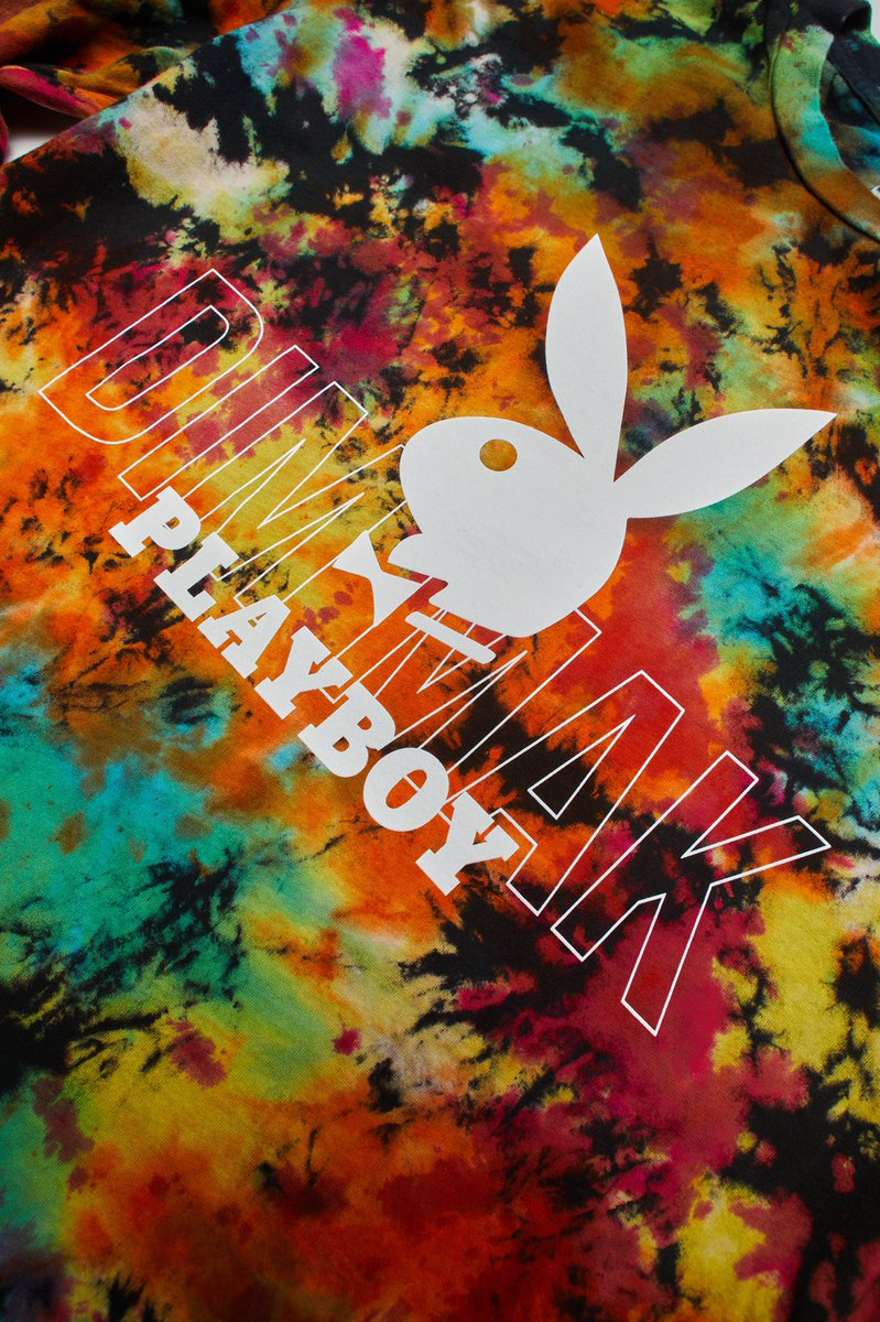 Playboy x Dim Mak - available on  until midnight (PDT) tonight!!  Secure your goodies now so you don't have to chase them later!!  🐇🐇🐇@steveaoki @playboy @dmcollection @dimmak #playboylabs
