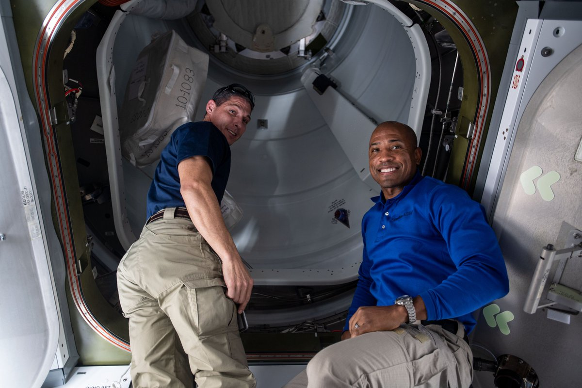 .@Astro_Illini and @AstroVicGlover are getting ready for a pair of 6.5-hour spacewalks on Jan. 27 and Feb. 1 to upgrade science and communications gear on the station. More...