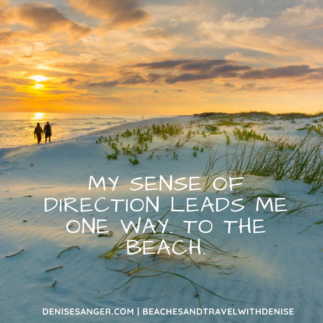 I have a wonderful sense of direction :P #beach #beachlovers #travel #travelblogger
