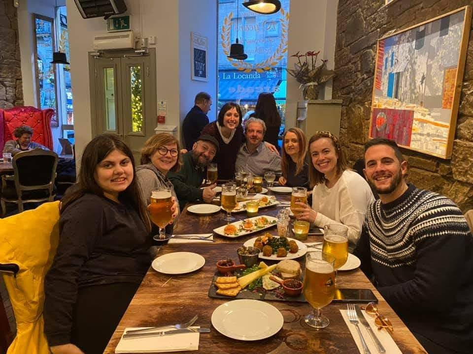 On this day 2020  Our friends from Algarinejo visited Edinburgh  Look forward to when we can do it again 🏴󠁧󠁢󠁳󠁣󠁴󠁿🇪🇸🇪🇺  #Memories #Friends #Food #Edinburgh #Algarinejo