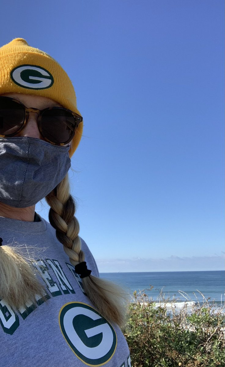 @cheeseheadtv Checking in from the edge of the continent...#CarryTheG #GoPackGo #WestCoast 💚💛💚💛