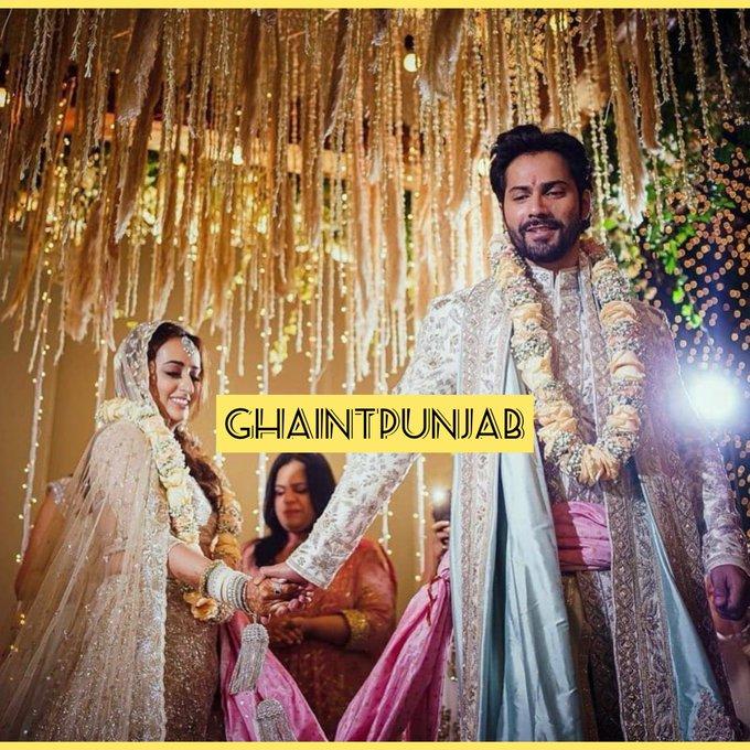 Varun Dhawan gets married to Natasha Dalal in Alibaug Photo
