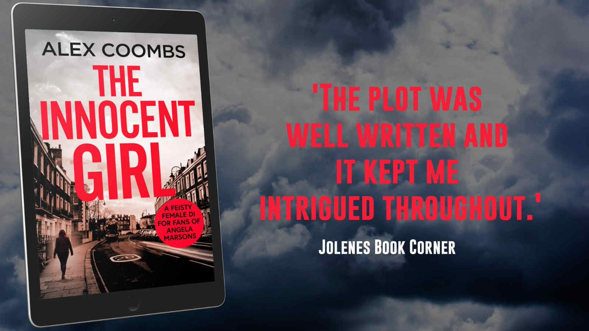 """The plot was well written and it kept me intrigued throughout. "" says @jojowelshghoul about The Innocent Girl by @AlexHowardCrime     DI Hanlon Series is available now ➡️"