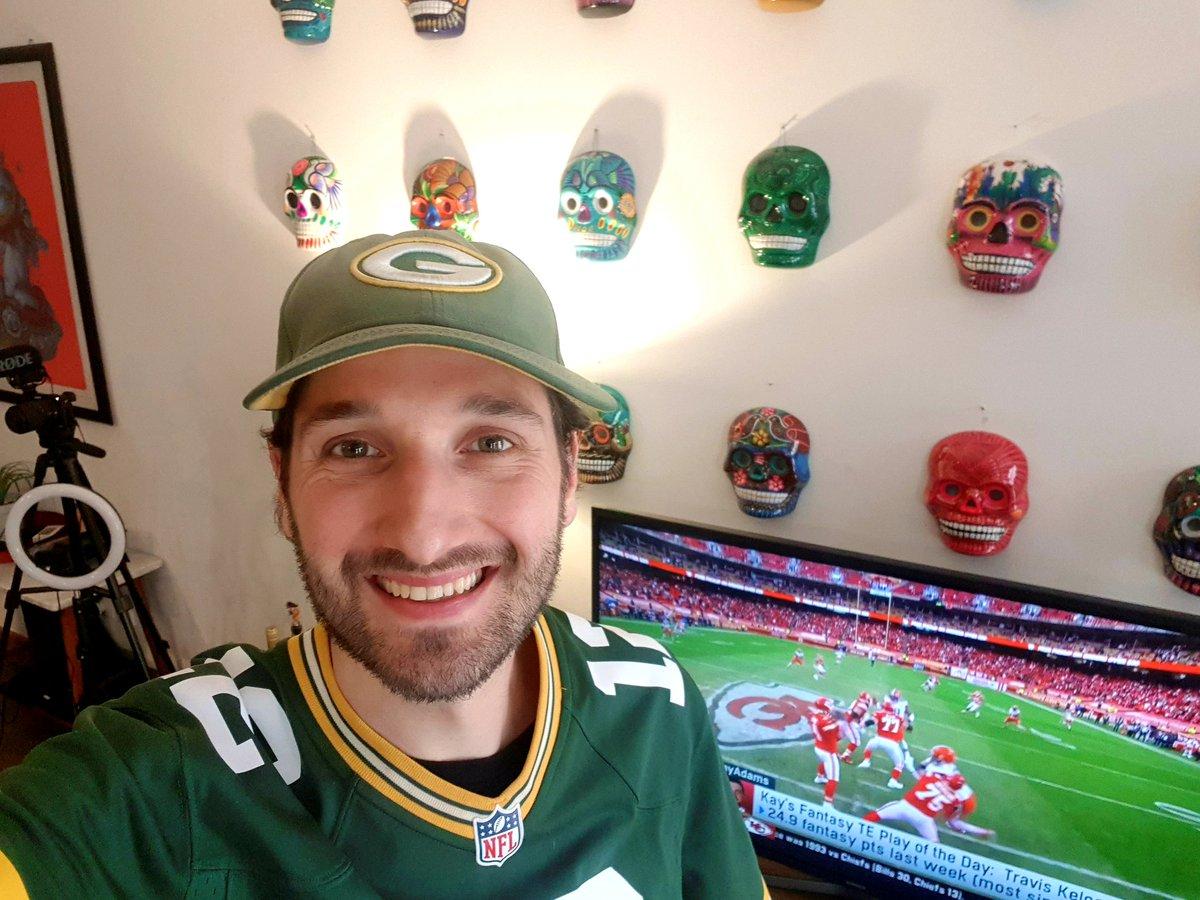 @Packers_Mx Desde CDMX! #PackersRollCall #GoPackGo