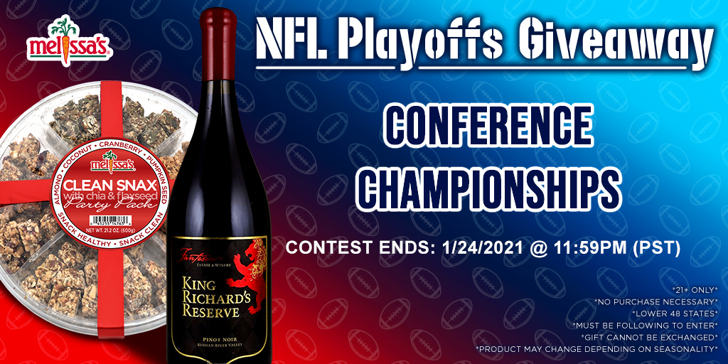 @MelissasProduce I think it would be down to Tampa Bay & Buffalo !!   #SuperBowl  #NFLPlayoffs #TBvsGB #BUFvsKC   #CleanSnax   #ChampionshipSunday!!